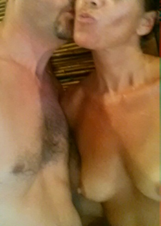 selfie-nude-couple-wife-milf-topless-tits-sexy-hot