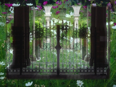 luce oltre il cancello