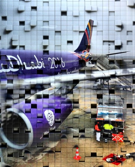 airplane block